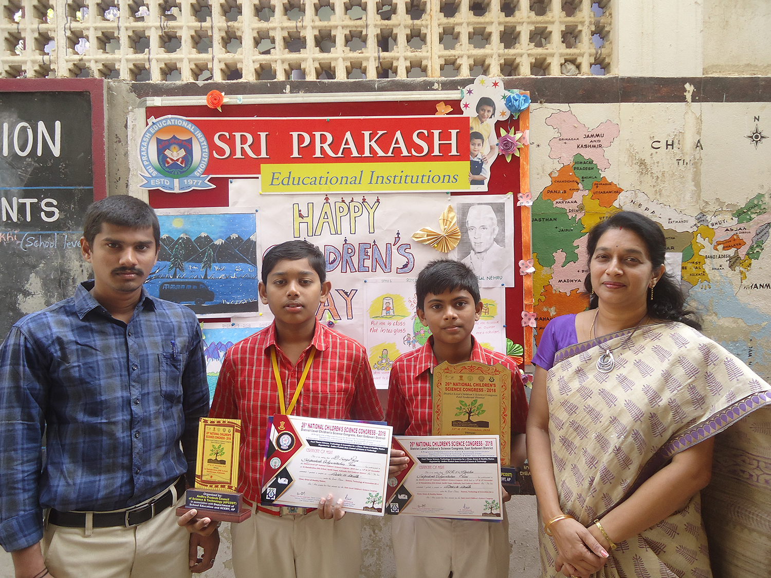Selected for State Level Presentation